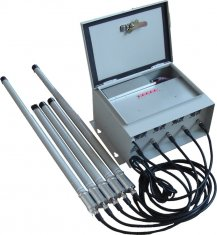 Waterproof 75W High Power 3G Mobile Phone Signal Jammer