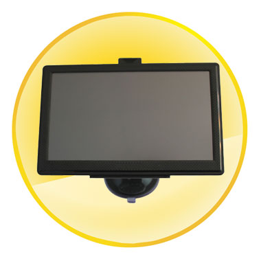 7.0 Inch Android GPS Navigation with Google Map WIFI