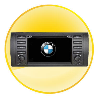 7.0 Inch Digita Car DVD Player with DVB-T Bluetooth GPS for BMW 5 Range Rover