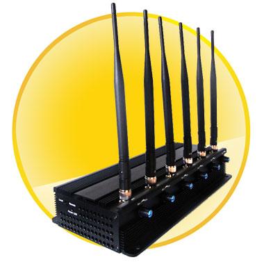 Adjustable 6 Antenna  WiFi,GPS,Cell  Phone Blocker