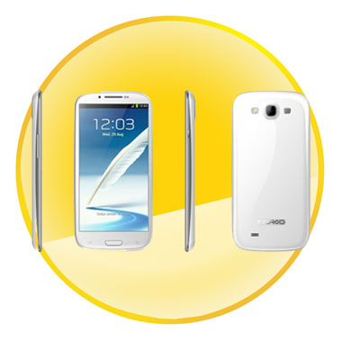Android 4.0.9 OS 5.5inch Touch Screen Smartphone with 3G,Wifi,GPS
