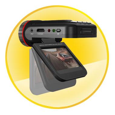 Mini HF 720P Car DVR Cameras Recorder