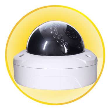 1/3-inch 1.3 Megapixel Low illumination CMOS Dome Camera