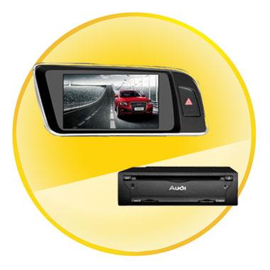 7 Inch Car DVD for AUDI Q5(2008-2012) with 3G Radio Bluetooth