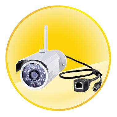 720P Wifi IR-cut Two-way Audio Household IP Camera