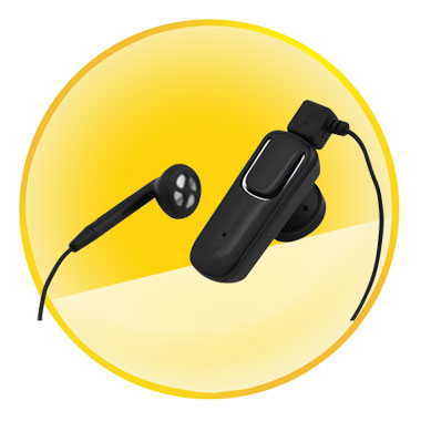 Stereo Bluetooth Headset With Volume Control Voice Dialing