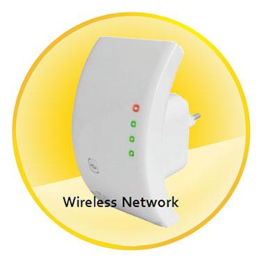 Wirlesss N 300Mbps Wifi Repeater/AP W/ WPS