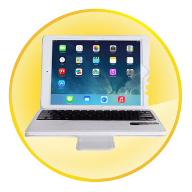 Removable Wireless Bluetooth Keyboard Case For IPad 6