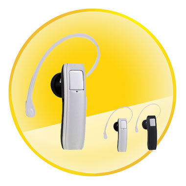 Standby Time 120H Mono Bluetooth Headset with Digital Signal Processing