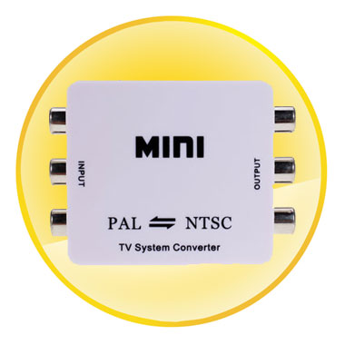 MINI TV System Converter PAL to NTSC or NTSC to PAL