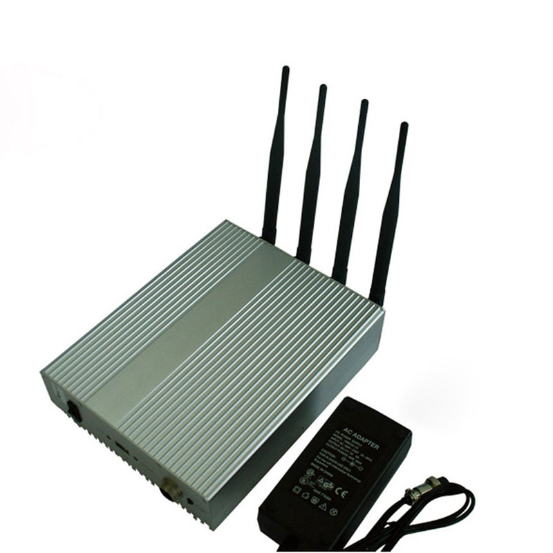 Desktop 4W Powerful All 2.4G WiFi 5G WiFI Signals Jammer