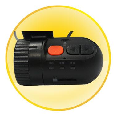 2 Inch HD IR Wide Angle Car Video Camera