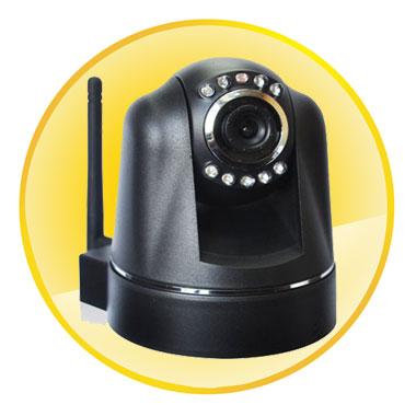 300K Pixels CMOS Sensor Two-way Audio IP Camera