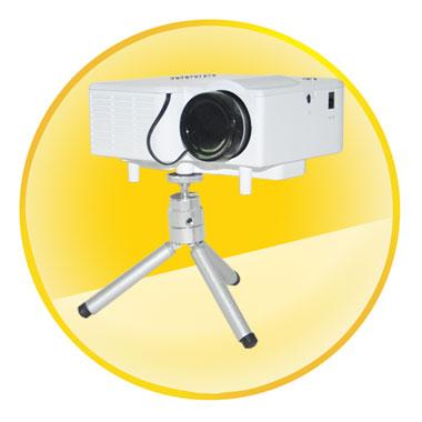 45 inch LED Portable Mini Multimedia Projector
