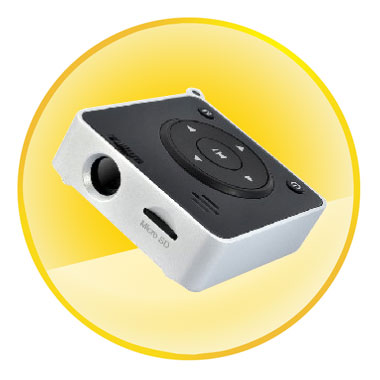 Mini Digital Home Pocket Projector with MP3 Player