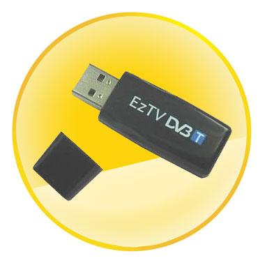 USB DVB-T Stick with FM