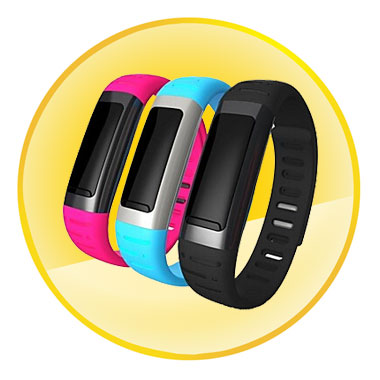 Waterproof Bluetooth Smart Bracelet OLED Digital Sports Watch for Smart Phone
