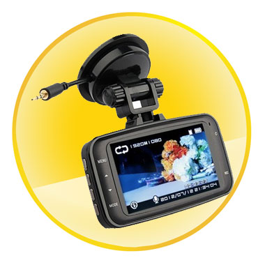 2.7 inch TFT LCD Full HD 3 Axis Car DVR