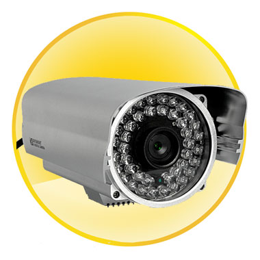 720P HD Nightvision IP Security Camera