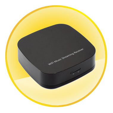 Airmusic DLNA Music Receiver Streamer AirPlay WiFi HIFI For iPhone 6 Galaxy S5