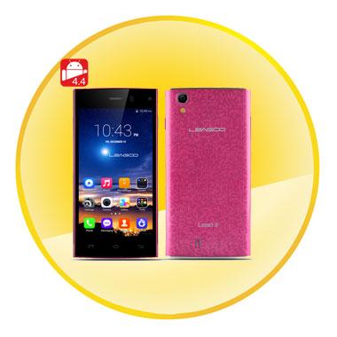 LEAGOO Lead 3 4.5 Inch QHD IPS Screen MTK6582 Quad Core CPU Android 4.4 Smartphone