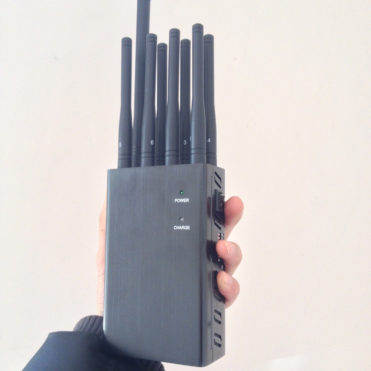 Selectable 8 Bands Portable GSM 2G 3G 4G All Worldwide Phone Signal Jammer