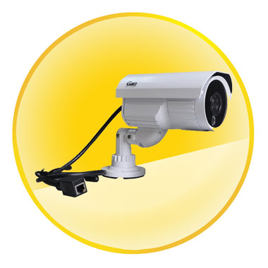 CMOS Sensor 720P Support TF Cards P2P IP Camera Support iPhone/iPad/3G phone/Android smartphone