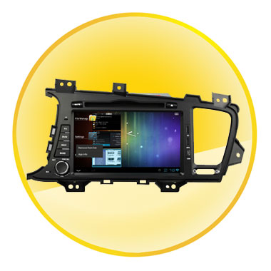 8 inch Touch-Screen Android 4.0 Car DVD for KIA K5 2011-2012