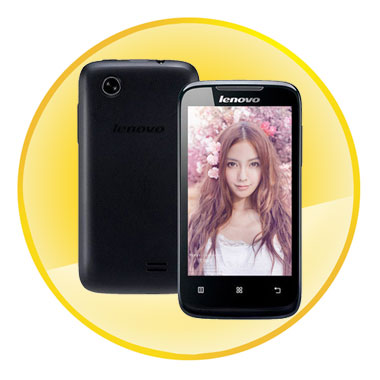 Lenovo A369 Dual-Core Android 2.3 WCDMA Bar Phone