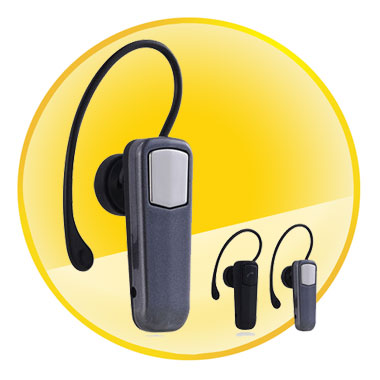 Mono Bluetooth Headset with 10M Effective Distance