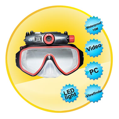 Digital Diving Mask Camera 4GB
