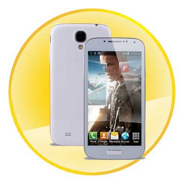 4.7inch MTK6572 1.2GHz Dual Core 3G GPS WiFi Android 4.2 Cell Phone