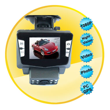 2.0 Inch Screen 1080P Car Black Box Camera Rotatable