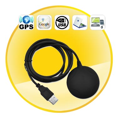 Highly Sensitive GPS Mouse Receiver for Laptop, Netbook, Desktop PC