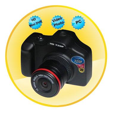 HD 720P 1.5 Inch Car Black Box Mini Driving DVR 120 Degree Angle Lens