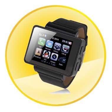 1.8 Inch USB/Bluetooth Data Transfer Watch Phone