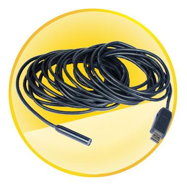 10M Mini USB 2.0 Inspection Endoscope