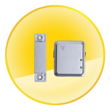 GSM Intelligent Magnetic Door Alarm