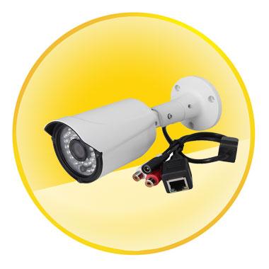 H.264 HD 720P ONVIF CCTV IR Waterproof P2P Audio IP Camera