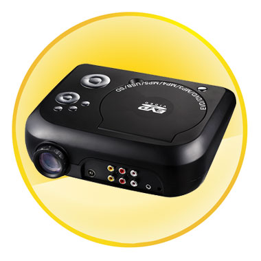 Home Theater Portable DVD Projector With TV, GAME
