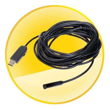 7M Mini USB 2.0 Inspection Endoscope