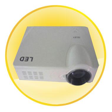 LED Multimedia Projector with HDMI,VGA,AV,USB and YPrPb