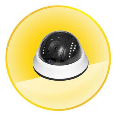 720P H.264 Megapixel Security ONVIF 929 CCTV POE IP Camera Plug-and-play