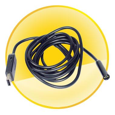 2M Mini USB 2.0 Inspection Endoscope