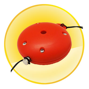 Round Shape Personal Guard Alarm for Children and Elderly