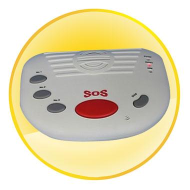 Elder GSM Alarm with Panic Button