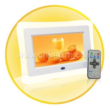 7inch Screen High Solution Digital Panel Photo Frame
