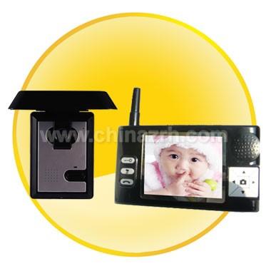Wireless Video Door Phone (CMOS Sensor) with a top