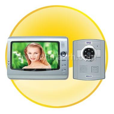7 Inch TFT LCD Colour Video door phone