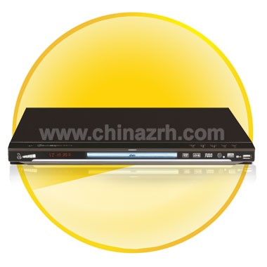 Multifunction DVD Player with Analog 5.1 Channel Audio Output + Karaoke Function